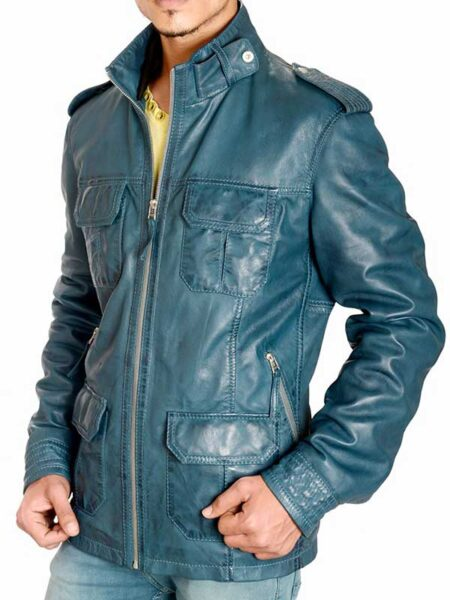 Wilson Jacket Waxed Leather Jacket
