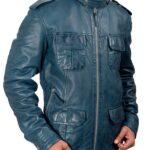 Wilson Jacket Waxed Leather Jacket