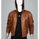 brown bomber jacket mens