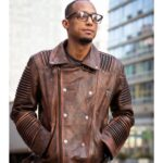 Shop Ribble Brown Distress Lamb Motorcycle Jacket