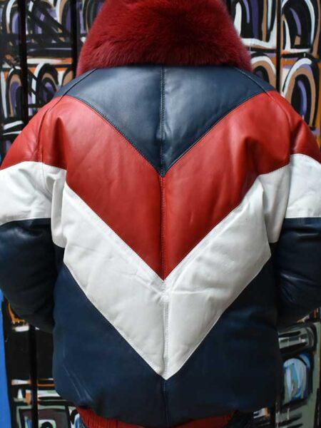 old bomber jacket