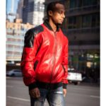 Red & Black Best Bomber Jacket for Men