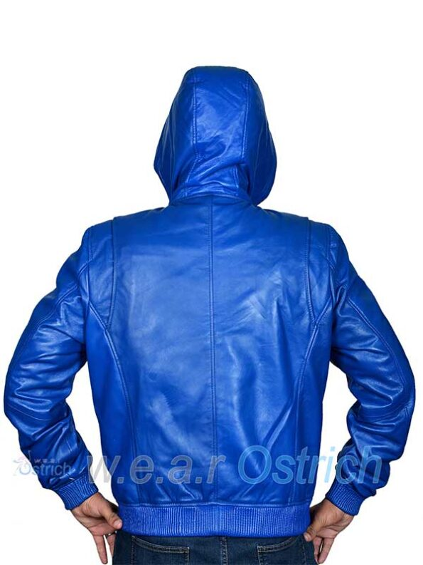 royal blue bomber jacket mens
