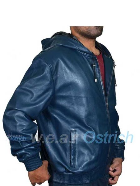 Bomber jackets with hoods