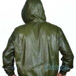 green bomber jacket men