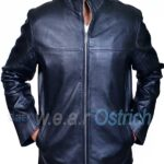 Alex Black Leather All Saints Jacket