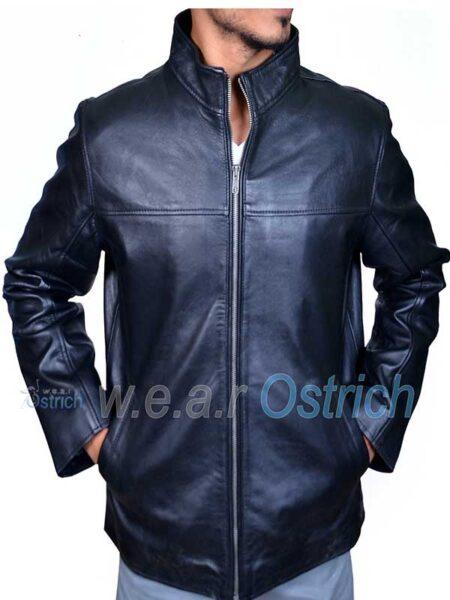 Alex Black Leather All Saints Jacket