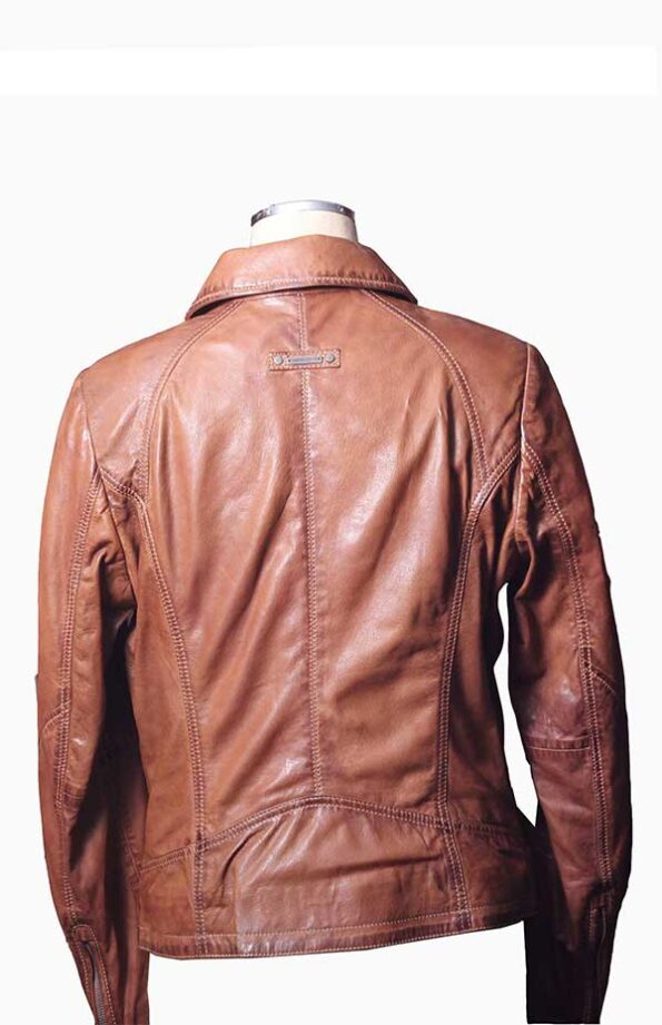 leather blazer jacket womens