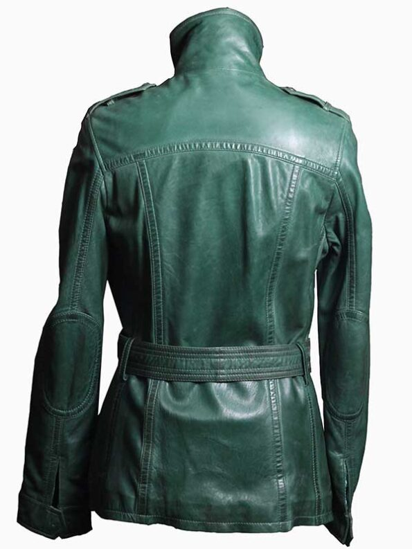 leather trench coats womens