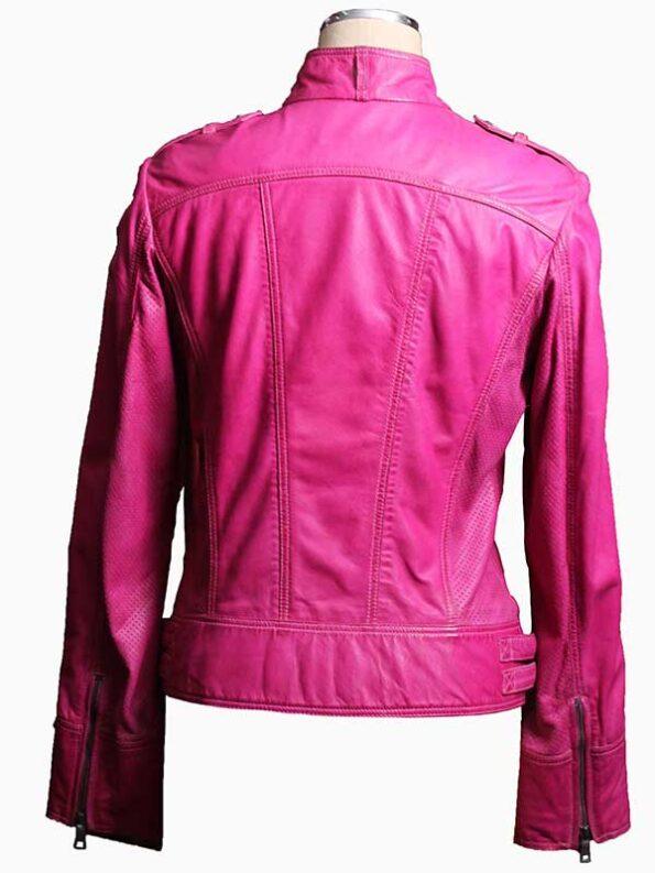 womens biker jacket