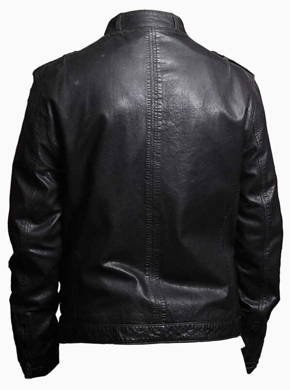 thin leather jacket mens