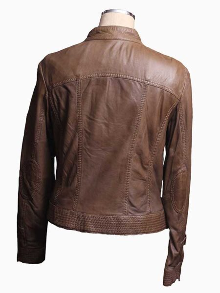 brown bomber jackets women