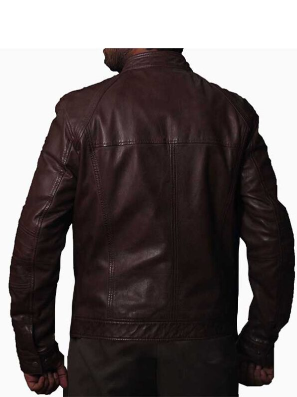 leather race jacket