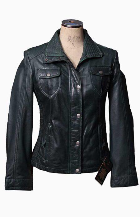 women plus size leather jackets