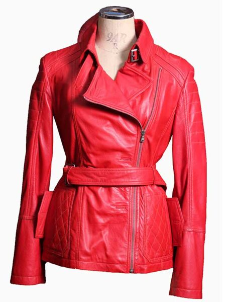 womens leather coats