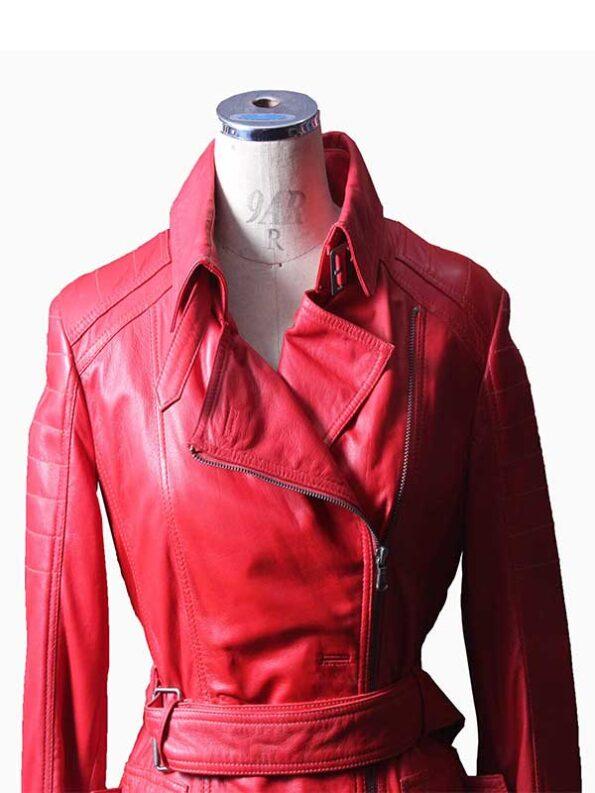 ladys leather coats