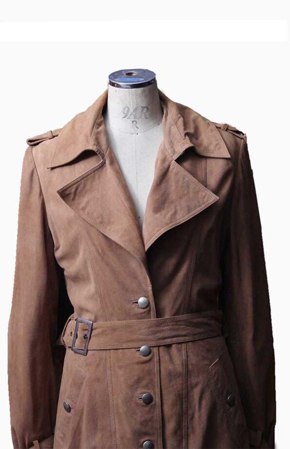 womens suede jacket