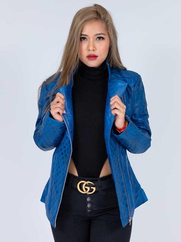 women's plus size leather motorcycle jacket