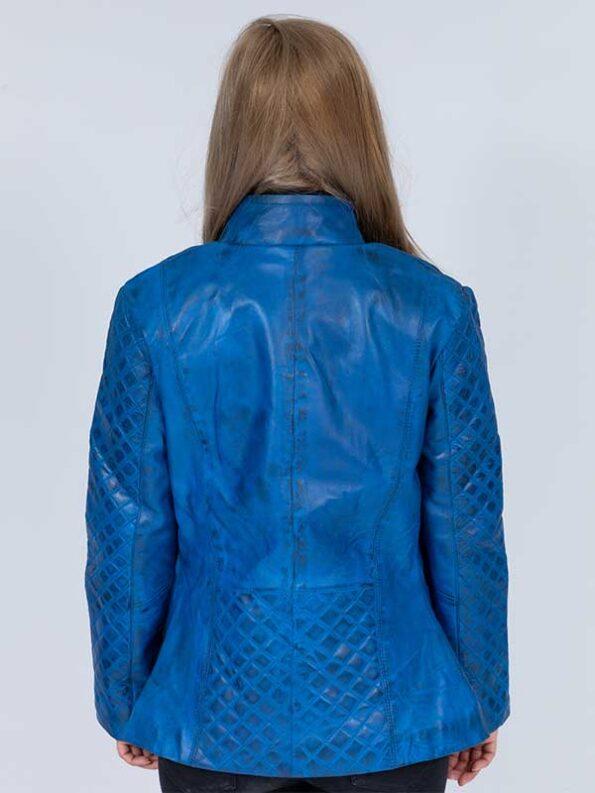 leather blazer jacket womens