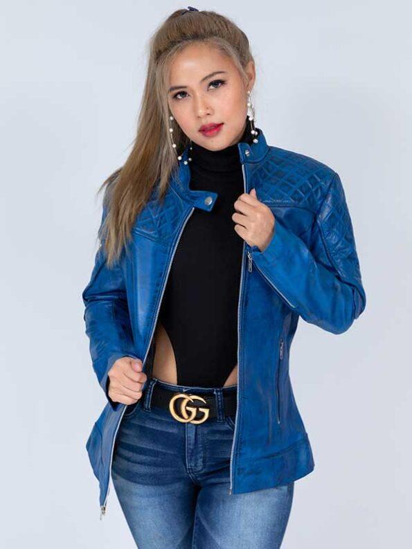 leather coats womens