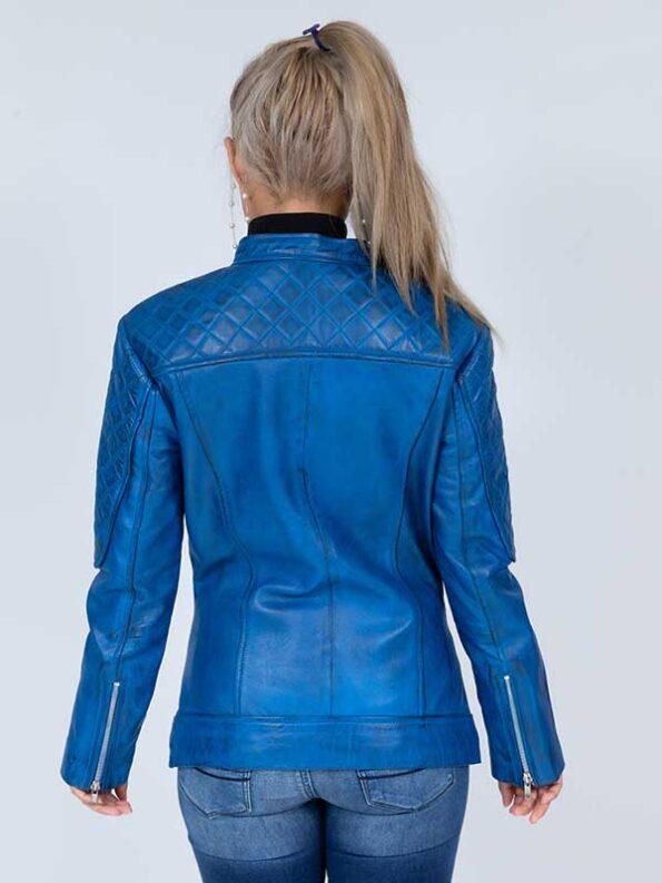 lightweight leather jacket womens