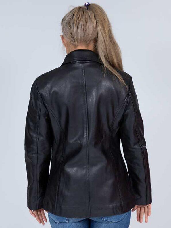 black leather jacket womens sale
