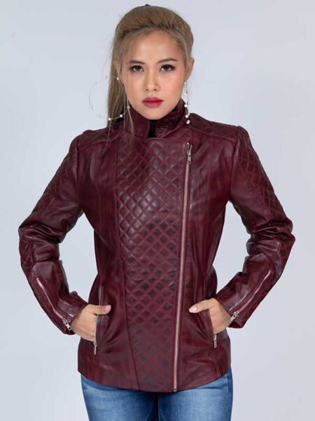 leather jacket womens