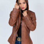 womens hooded trenchcoat